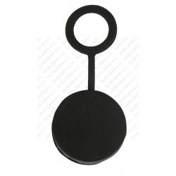 9 - Tappino nero in silicone