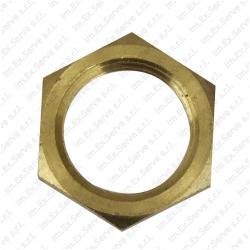 12 - Lock nut brass M14x1