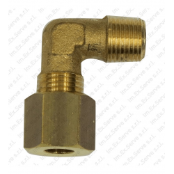 15 - Elbow fitting M brass nose piece